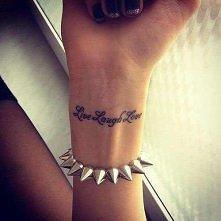 Tatuaż na nadgarstku, co myślicie?