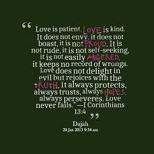Miłość cierpliwa jest, łask...