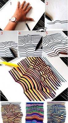 Potrzebne: Kartka papieru Ołówek Marker Flamastry  Wykonanie: Odrysuj swoją r...