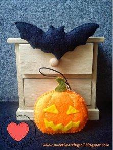 Filcowe Halloween :) Zapraszam na mojego bloga :)
