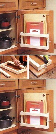 diy, kitchen, board, rack, ...