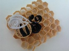 quillingowa pszczółka
