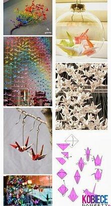 żurawie origami
