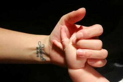 Tatuaż Z Imieniem Syna Na Nadgarstku Na Tattoo Zszywkapl