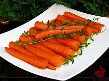 Glazurowana marchewka  Młode marchewki na słodko w glazurze z miodu i soku po...