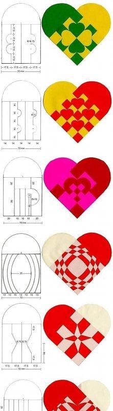 diy, heart, pattern, tutorial, handmade