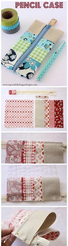 Hand made_pencil pouch