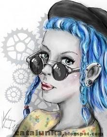 Kolejny mój rysunek cyfrowy...