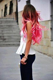piękne różowe obmre <3