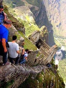 Hiking Huayna Picchu - Machu Picchu, Peru.