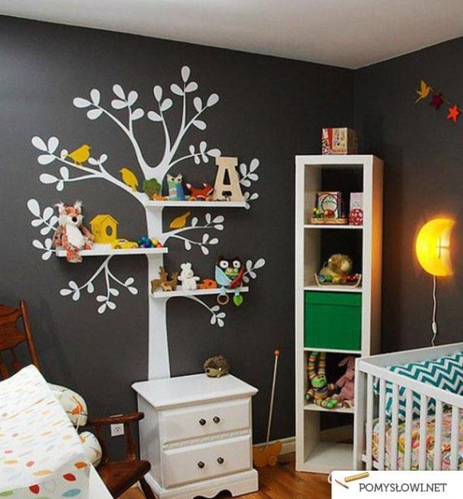 Pomysł Na Półki Do Pokoju Dziecięcego Na Pokój Dziecka