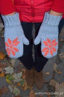 rękawiczki z jednym palcem ...