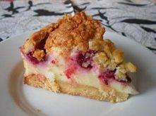CIASTO ZEN   Ciasto (na tortownicę o średnicy 18 cm):  - ½ kostki masła, - 1 i 1/3 szklanki mąki, - 1 łyżeczka cukru wanilinowego, - ¼ szklanki cukru pudru, - ¼ szklanki cukru b...