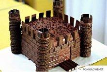 Czekoladowy zamek - wygląda pysznie!