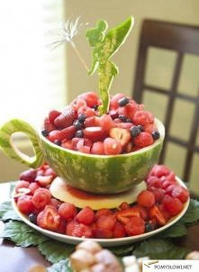 dekoracja owoców - zrób sama