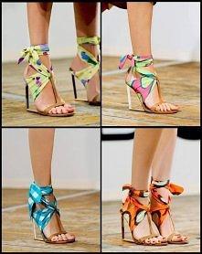 sandały z apaszki