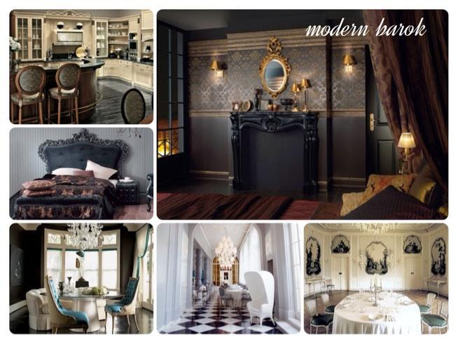 Barok En Modern : Modern barok na style we wnętrzach zszywka pl