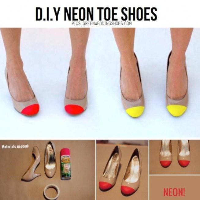 Neonowe butki handmade