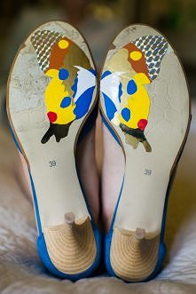 Spersonalizowane buty ślubne
