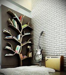 Wiosło, piecyk i miejsce na książki