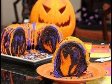 Tęczowa babeczka na Halloween - przepis krok po kroku  Famous Halloween Rainb...