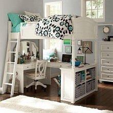 Takie boskie łóżko może ucieszyć nie tylko dziecka ;)