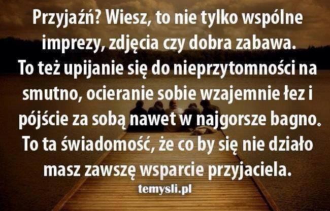 Przyjaźń Na Teksty Zszywkapl