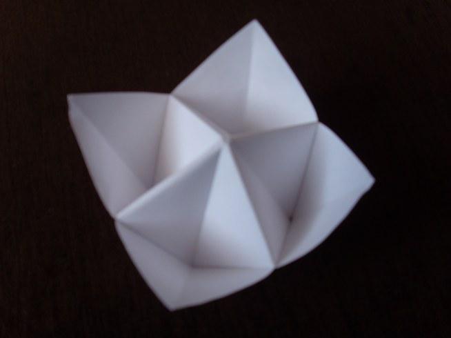 Origami solniczka