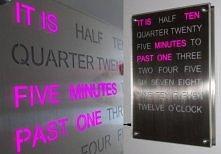 Word Clock by Ledy Design. ...