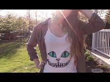 DIY | Cheshire Cat Shirt ♥