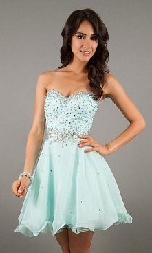 Short Strapless Homecoming Dress by Mori Lee 9240 Hot Dresses Fast Shipping