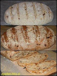 Chleb cebulowy z otrębami Pyszny domowy chlebek, którego zaletą jest również ...