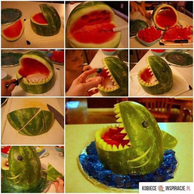 Pomysl na... podanie owocow