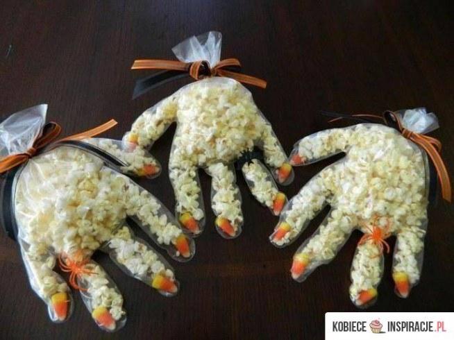 Pomysl na... podanie popcornu w Halloween