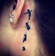 Tatuaż Piotruś pan
