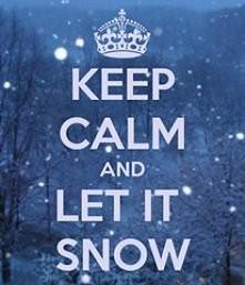 let snow!