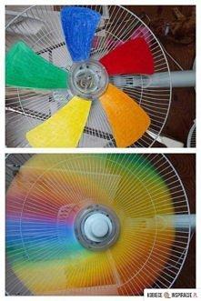 Kolorowy wiatrak
