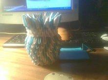 origami modułowe, wazon