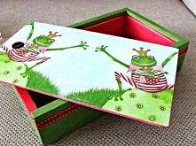 pudełko dla dzieci - praktycznie i ozdobnie w pokoju dzieci