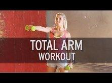 Ulubione ćwiczenia, nr. 6 -Total Arm Workout  musze popracować nad rękoma, a te ćwiczenia są świetne