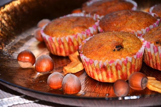 Pyszne muffinki dyniowe - dozwolone nawet na diecie :) Przepis po kliknięciu :)