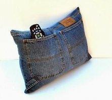 Jak wykorzystać stare jeans...