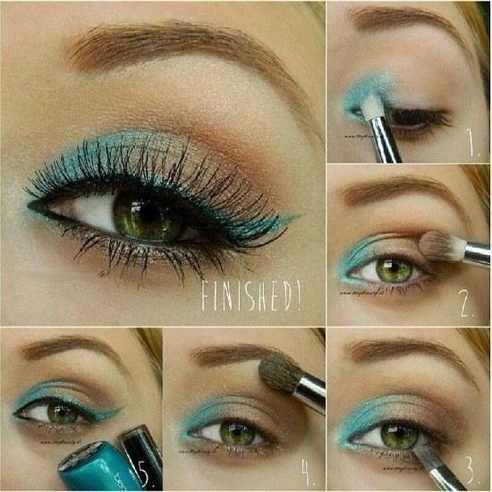 śliczny makeup :d