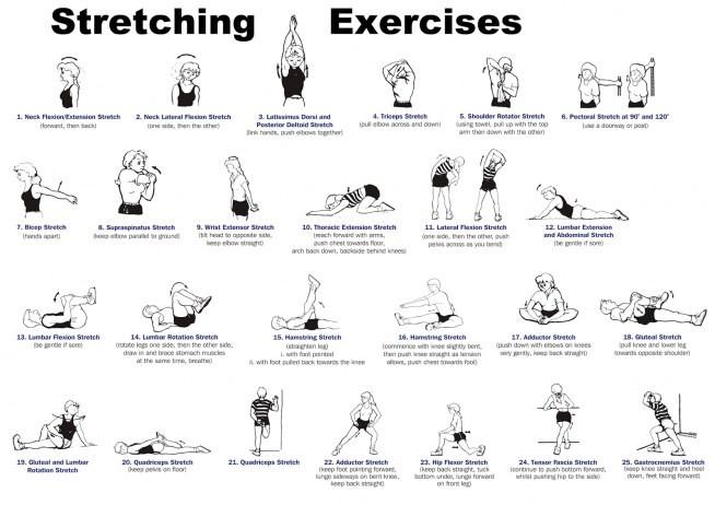 Ćwiczenia rozciągające - kiedy i po co... - Gabinet-Murawski ERROR 404 -  Gabinet-Murawski