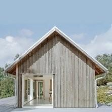 Mały, nowoczesny domek. Zobacz więcej na moim blogu.