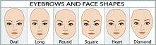Jak dopasować kształt brwi do owalu twarzy ?  Oto wskazówka jak wymodelować łuk by brwi współgrały z kształtem buzi.