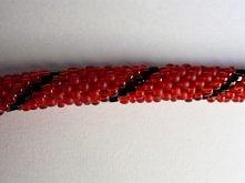 czerwona żmijka