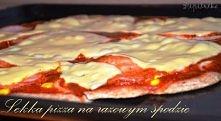 Nawet na diecie można pozwolić sobie na pizzę :) Jeśli jest wykonana według tego przepisu. Dietetyczna pizza - kliknij po przepis :)