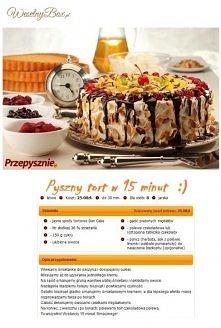 Pyszny tort w 15 min