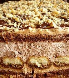 Ciasto czekoladowo orzechow...